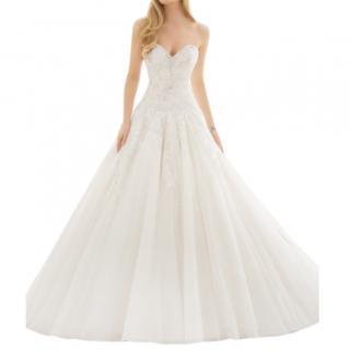 Morilee By Madeline Gardner Sweetheart Embroidered Wedding Dress