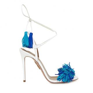 Aquazzura Wild Thing Leather Sandals