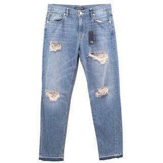 Tabitha Webb Ripped Boyfriend Jeans