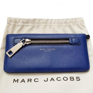 MARC JACOBS Gotham Blue Wallet