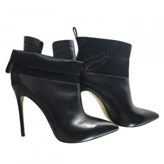 Casadei Banded Stiletto Heel Boots