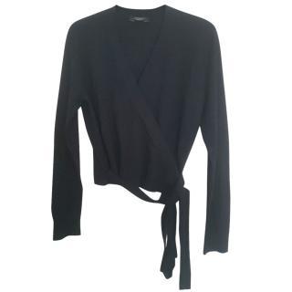 Max Mara Knit Wrap Cardigan