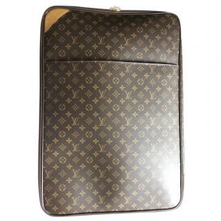 Louis Vuitton Pegase Legere 55 brown monogram suit case large size