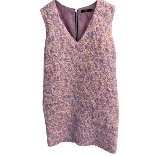 Markus Lupfer Jacquard Sleeveless Dress