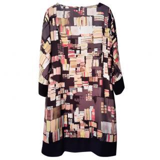 Simona Graphic Printed Dress