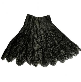 Ronit Zilkha black evening skirt