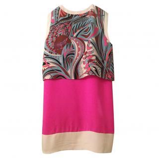 Emilio Pucci pink printed dress