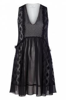 Sandro Silk Reem Dress