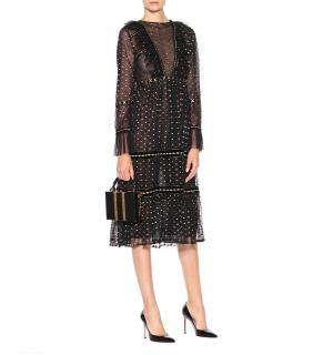 Dodo Bar Or black & gold Juleen dress UK6 It 40
