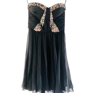 Rebecca Taylor silk sequin dress
