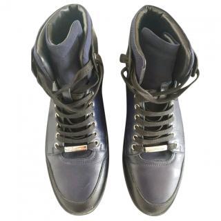Dior men's high top sneakers