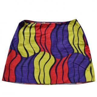 Marni cotton mini skirt