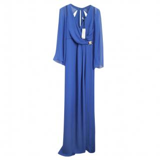 Versace Collection electric blue dress