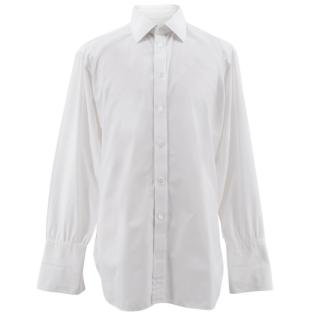 Turnball & Asser White Men's Shirt