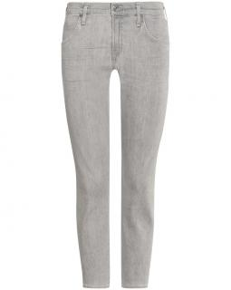 Citizens of Humanity Elsa mid rise crop jeans light grey