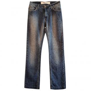 BLUMARINE blue Straightt leg eans