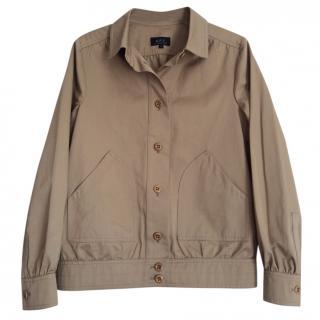 APC cotton blouson jacket m