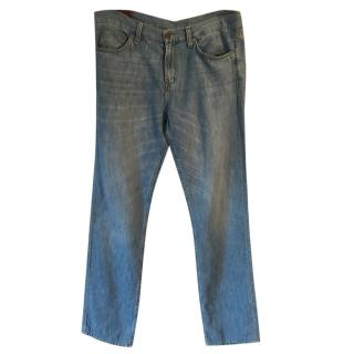 J. BRAND 'Kane Open Sky' cotton linen lightweight relaxed fit jeans