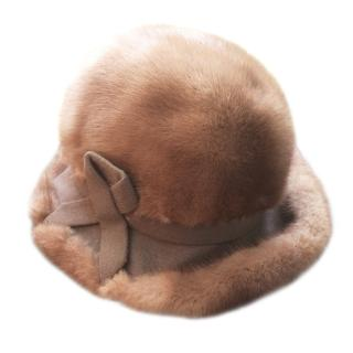 Mitzi Lorenz Mink Fur Hat