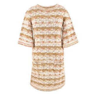 Chanel Woven Tweed Dress