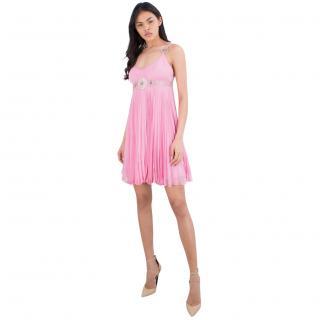 Jenny Packham 100% Silk Embellished Dress