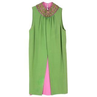 Neo Vintage Green Caoimhe Dress