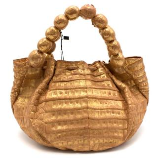 Nancy Gonzalez Crocodile Leather Bag