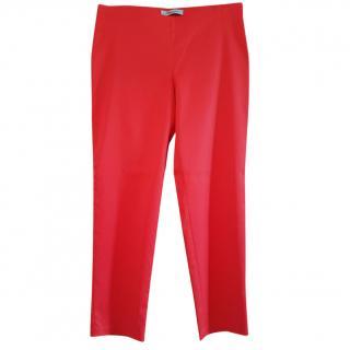 Blumarine Red Trousers
