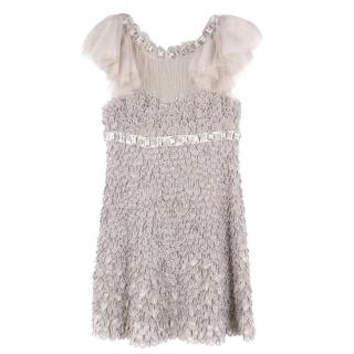 Jenny Packham Silk Embellished Dress