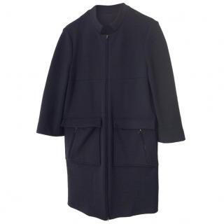 Marni black wool coat