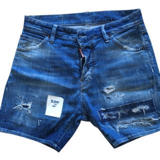 Dsquared denim shorts