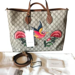 Gucci Garden Edition GG Embroidered Tote Bag