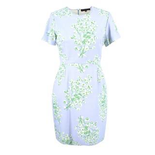 Jonathan Saunders Jodie Floral-print Crepe Dress