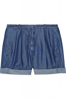 Acne studios Auris denim-effect shorts