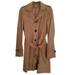 Burberry olive men's trench coat