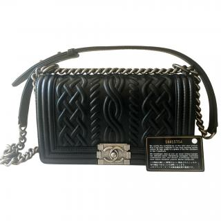 Chanel Paris Edinburgh Collection Boy Bag