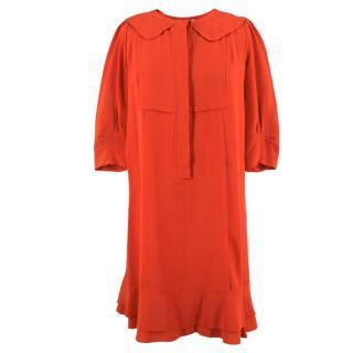 Chloe Silk Shirt Dress