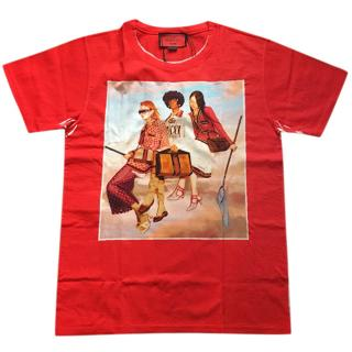 Gucci Limited Edition Ignasi Montreal Design Red T-Shirt