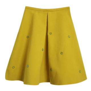 Antonio Marras yellow a line skirt