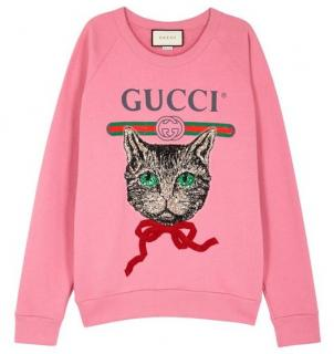 Gucci Mystic Cat Sweatshirt