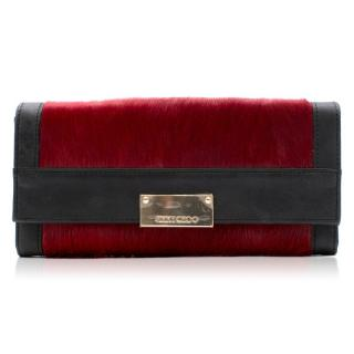 Jimmy Choo Pony Hair and Leather Wallet