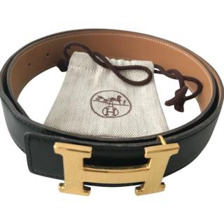 Hermes Constance Black Belt