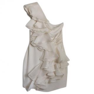 Marchesa Notte One Shoulder short dress