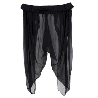 Alexander McQueen Sheer Beach Trousers