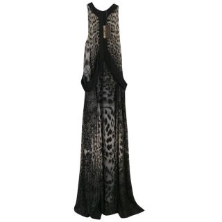 Roberto Cavalli extra long maxi dress