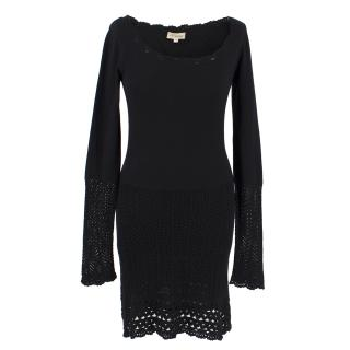 Temperly Silk & Cashmere Knit Dress
