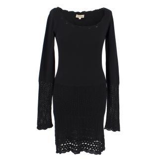 Temperly Silk & Cashmere Knit Dress