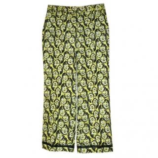 Prada Silk Pajama Trousers