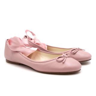 Ralph Lauren Collection Ballet Flats