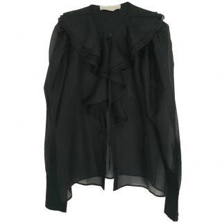 Stella McCartney Black Silk Blouse